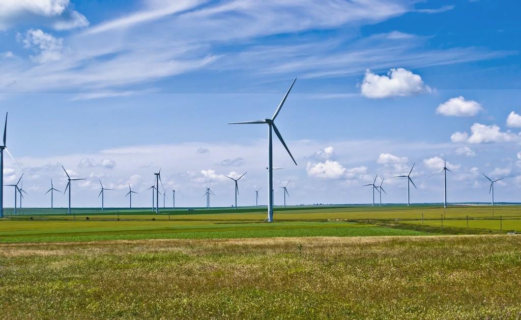 Větrná farma Fântânele Cogealac. Autor: Sandri Alexandra