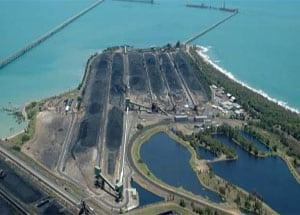 Uhelný terminál Hay Point. Zdroj: www.hatch.ca