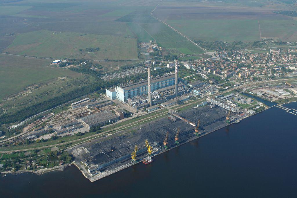 Uhelná elektrárna Varna. Zdroj: ČEZ