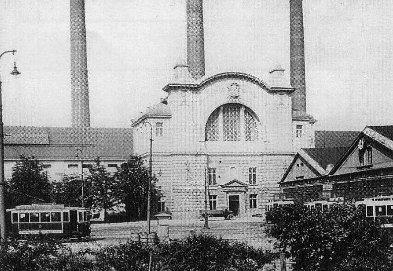 Elektrárna Holešovice, Zdroj: http://www.hornictvi.info/