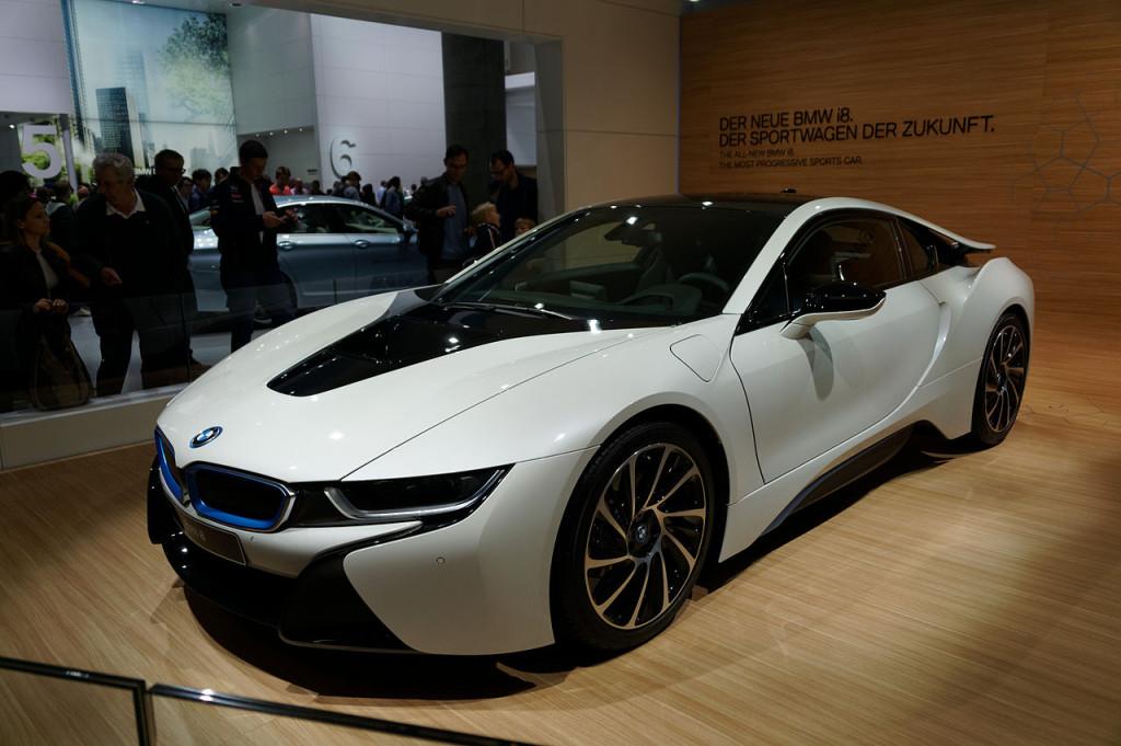 BMW i8 2014. Autor: youkeys