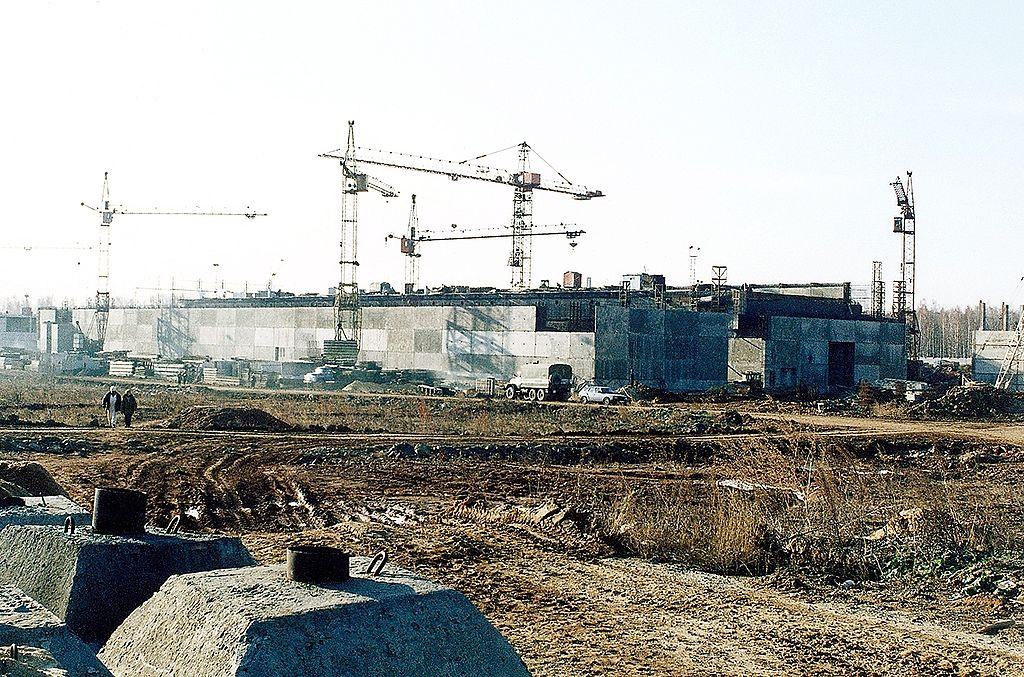 Stavba skladiště radioaktivního odpadu Majak. Autor: Carl Anderson