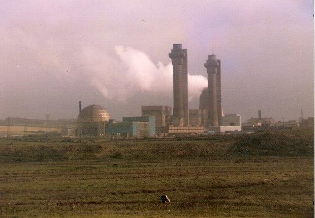 Reaktory Windscalle Piles v jaderném komplexu Sellafield. Autor: Chris Eaton