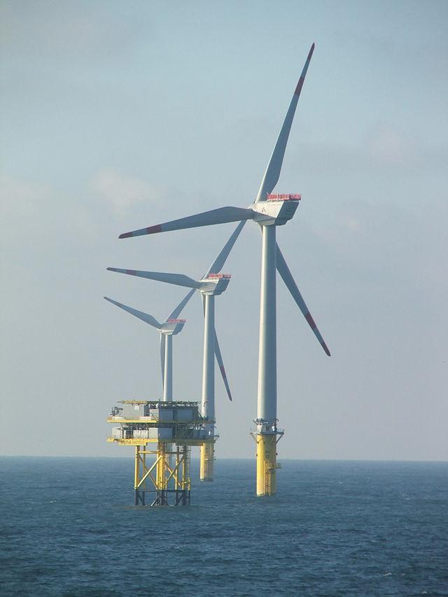 Alpha Ventus (Německo, Severní moře) větrná park