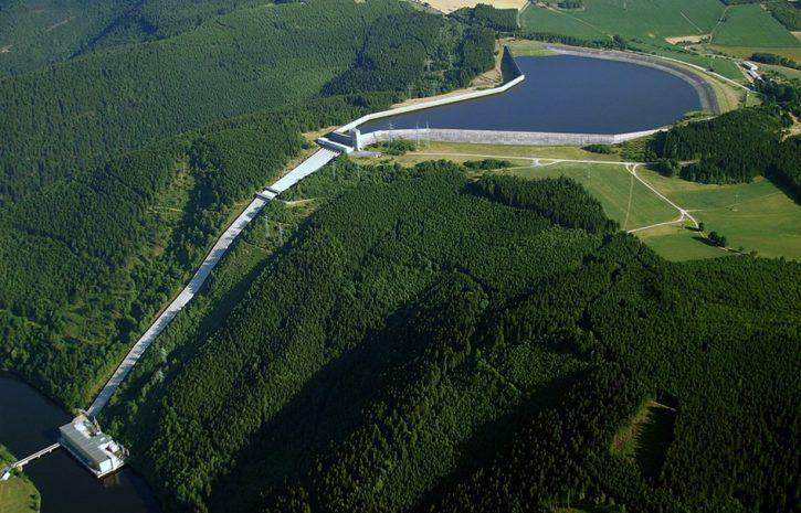 Obrázek - přečerpávací vodní elektrárna