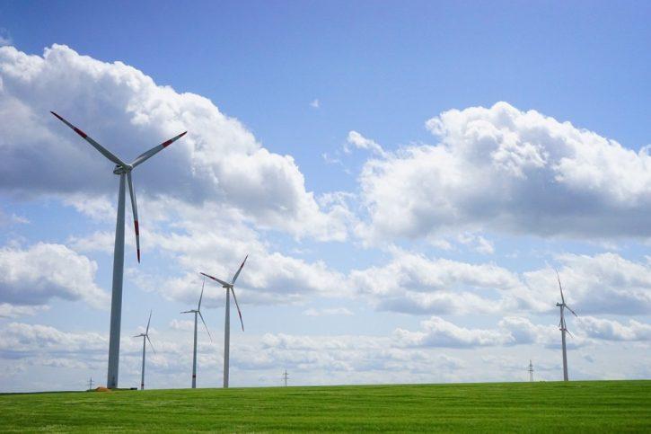 Energiewende - větrná elektrárna