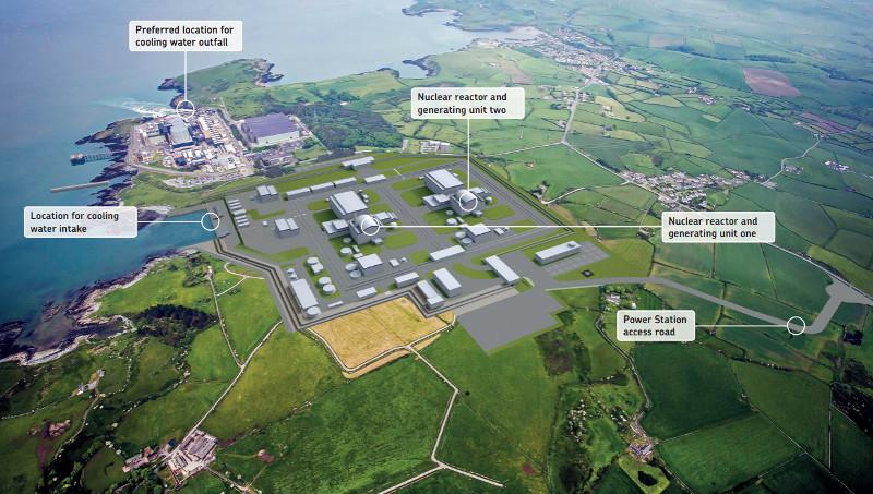 Další z projektů Velké Británie v oblasti jaderné energetiky, JE Wylfa
