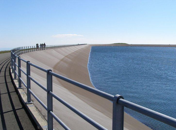 Přečerpávací vodní elektrárna Dlouhé Stráně, horní nádrž. Autor: Opavjar