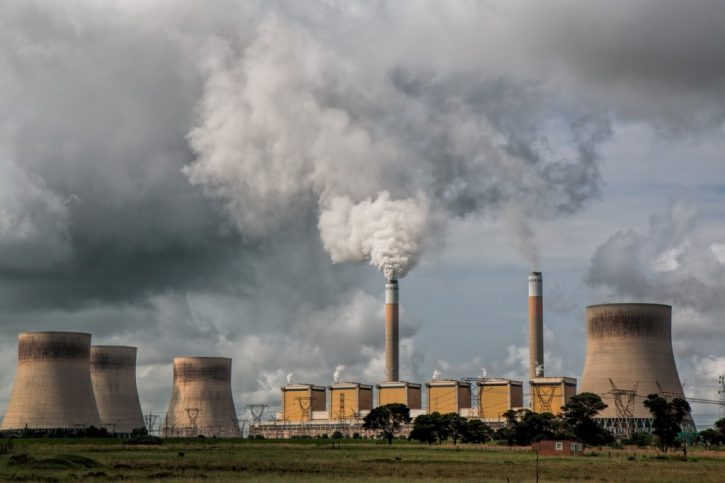 Německé uhelné elektrárny