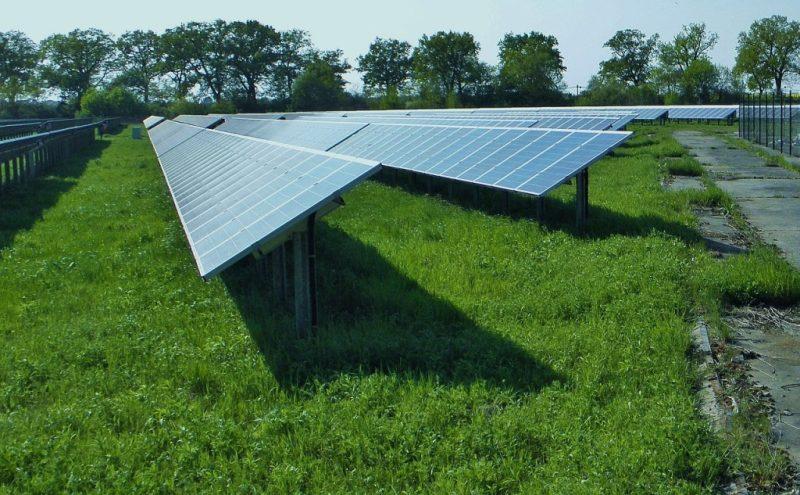 Systémy solárních elektráren