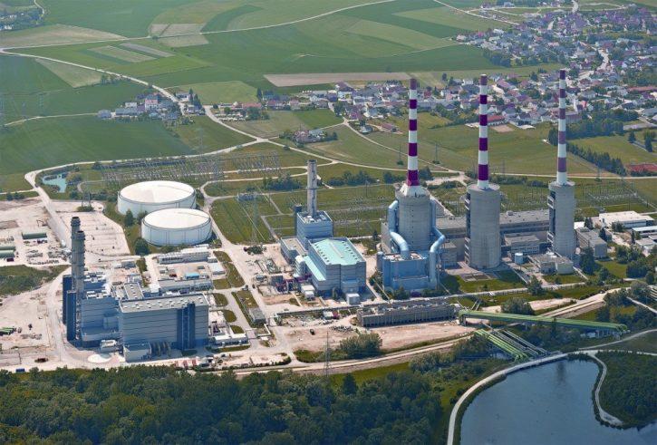 Paroplynová elektrárna Irsching