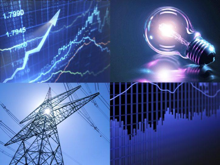 trh s elektřinou