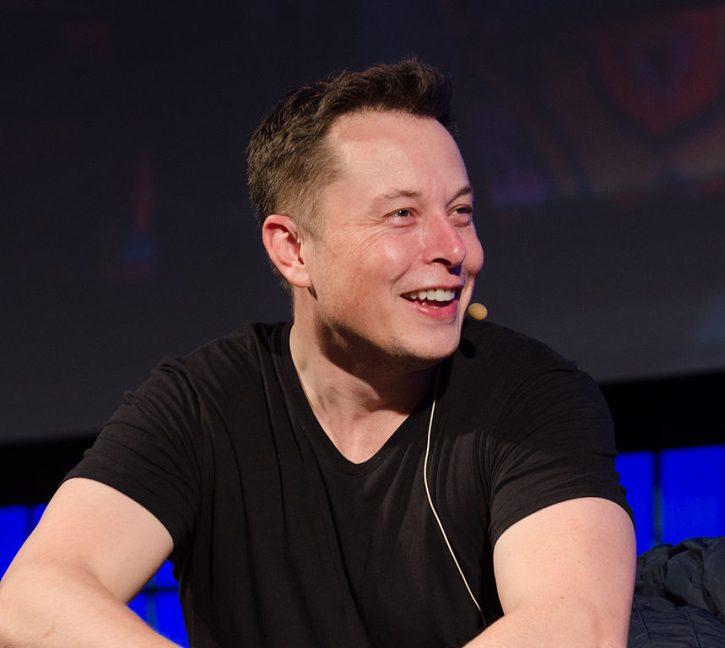 Generální ředitel společnosti Tesla Elon Musk. Zdroj: Tesla