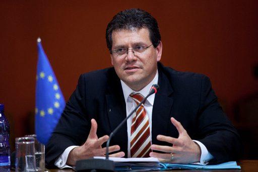 Místopředseda Evropské komise Maroš Šefčovič. Autor: Saeima