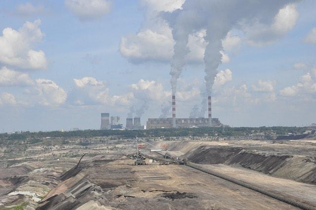 Uhelná elektrárna Německo