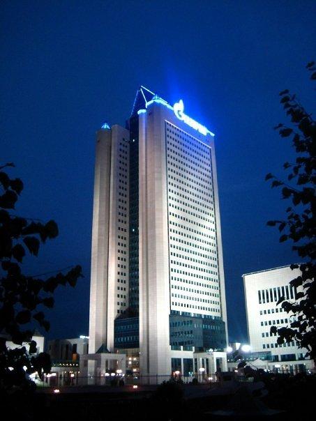 Centrála Gazpromu v Moskvě. Autor: Andrey Ivanov