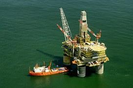 Severní moře ropný vrt