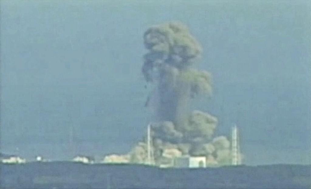 Výbuch v JE Fukushima
