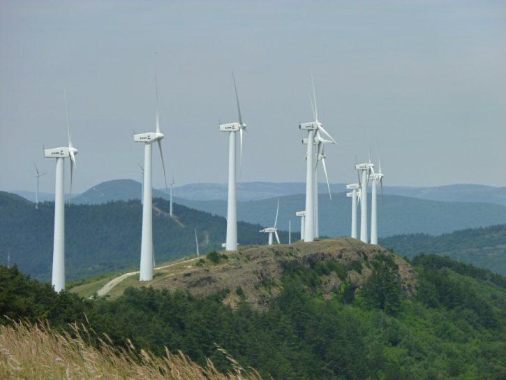 větrné elektrárny