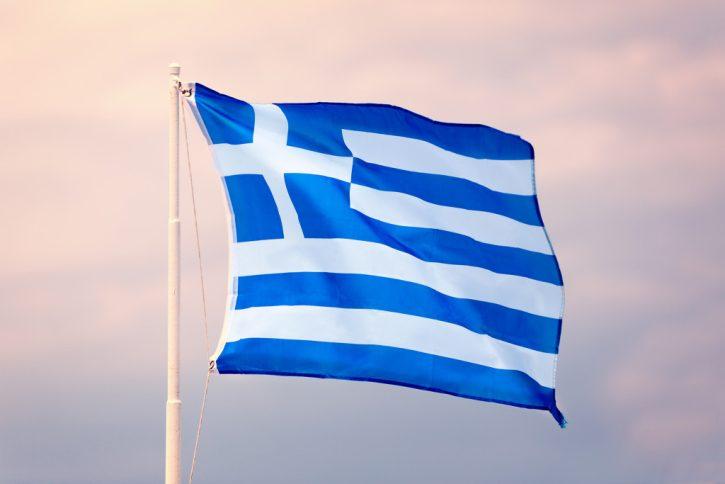 Řecko vlajka. Autor: Dalibor Tomic