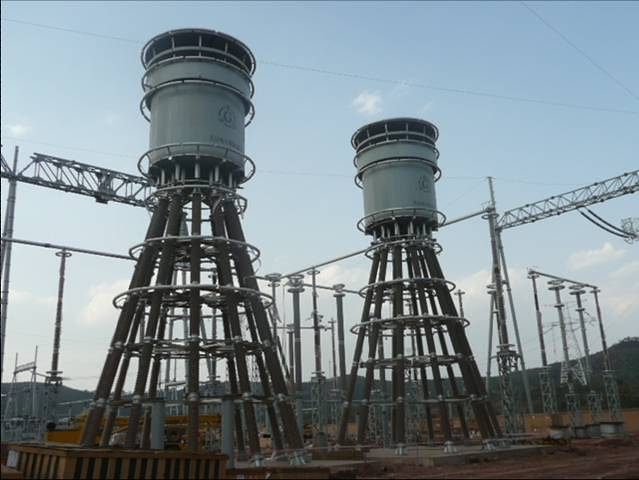 HVDC 800 kV reactors