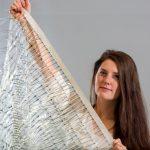 Inovativní systém využití energie větru z plastových třásní