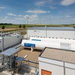 Nová stanice vyrábějící vodík z přebytečné elektřiny z větrných elektráren byla spuštěna v německé Mohuči