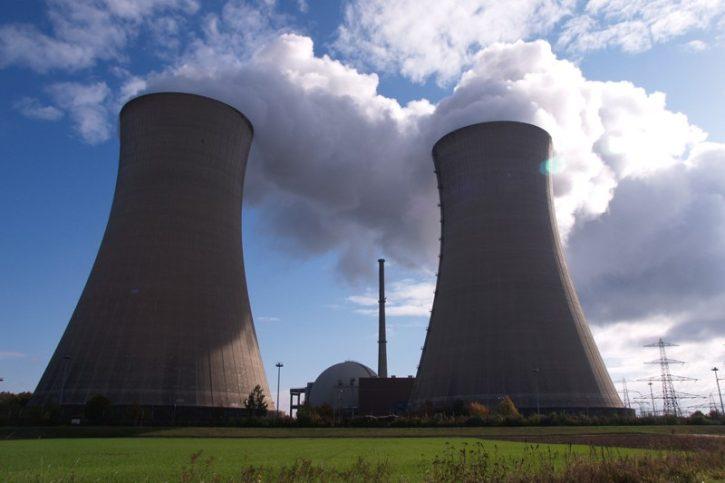 Jaderná elektrárna Německo Grafenrheinfeld