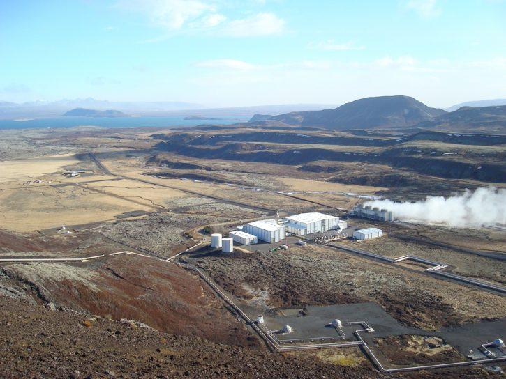 Nesjavellir geotermální elektrárna, Reykjavik