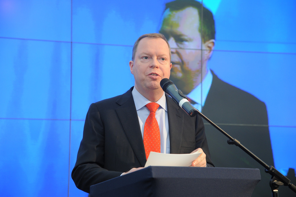 Ředitel RWE Peter Terium navrhnul snížení počtu zaměstnanců o několik tisíc. Zdroj: NET4GAS s.r.o.