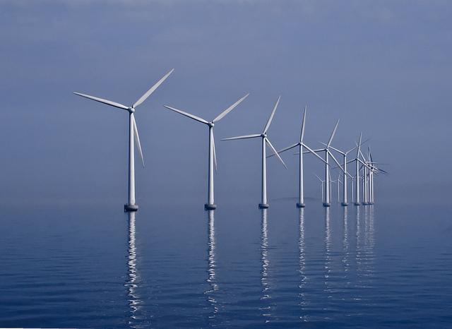 přímořský větrný park