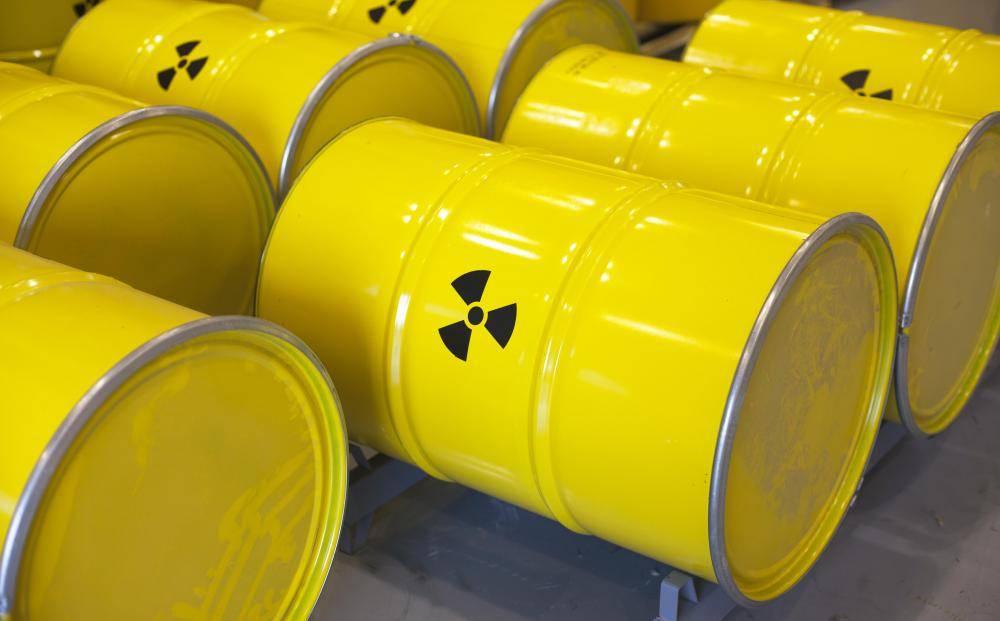 Sud s logem radioaktivity. Zdroj: wisegeek.org