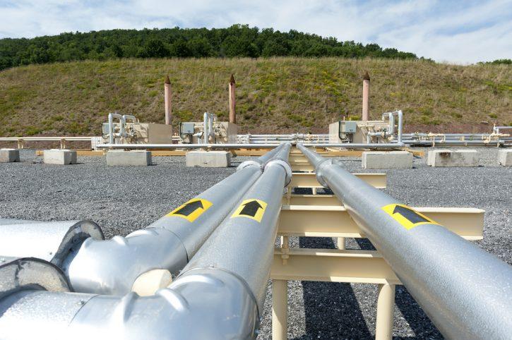 Plynovod. Nová technologie zlevní břidlicový plyn. Ilustrační foto