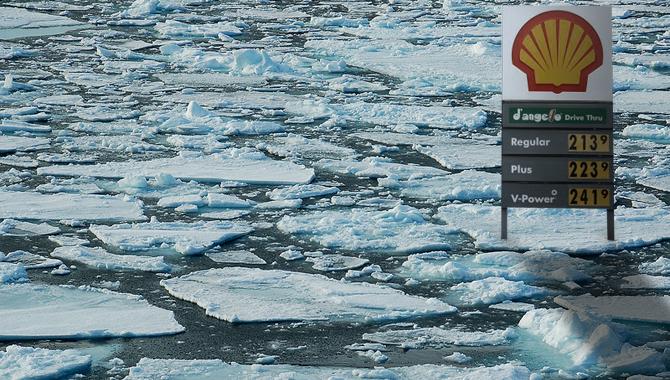 Shell arktida aljaška těžba