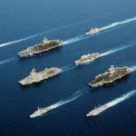 Plavidla na jaderný pohon: Námořní flotily
