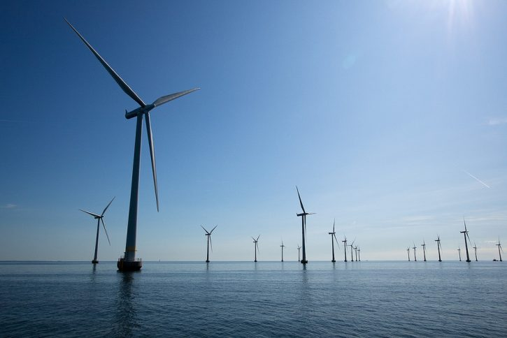 Offshore větrný park Lillgrund, Švédsko. Autor: axelivarsson