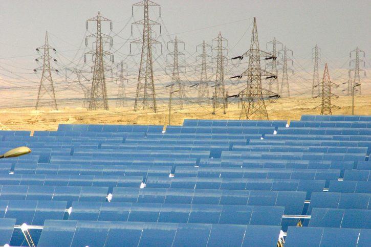 Solární elektrárna v Africe