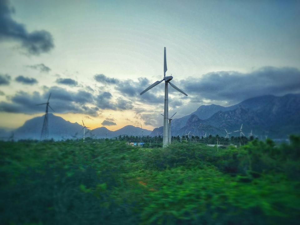 Muppandal wind park