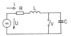Schéma obvodu s respektováním kapacity. Zdroj: ČVUT FEL