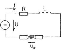 Obvod stejnosměrného proudu. Zdroj: ČVUT FEL