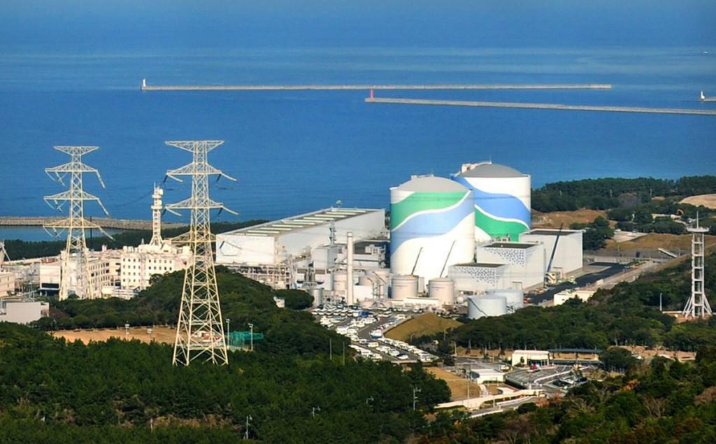 Jaderná elektrárna Sendai. Zdroj: Kyushu Electric Power Company