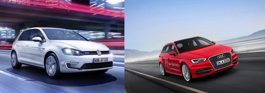 Golf GTE, Audi e-tron