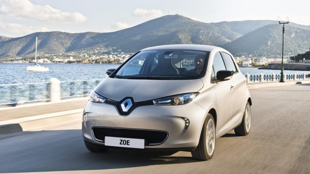 Renault Zoe. Zdroj: Renault
