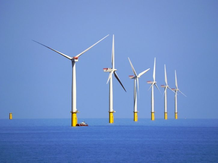 Offshore větrná elektrárna