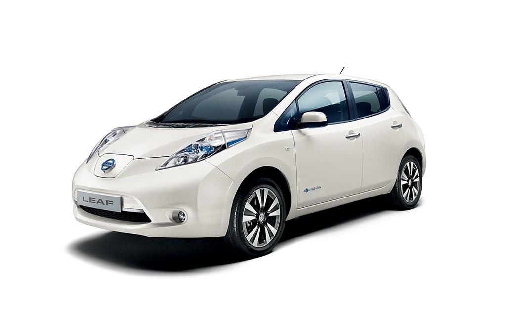 Nissan Leaf. Zdroj: Nissan