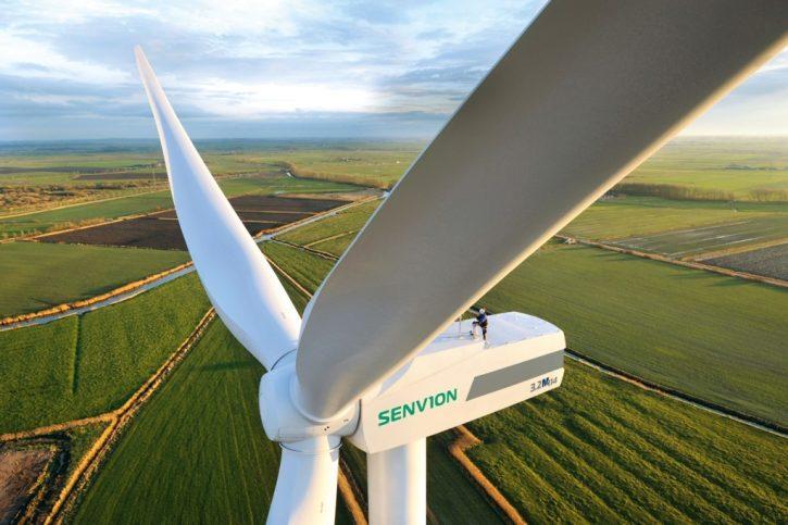 Větrná turbína společnosti Senvion