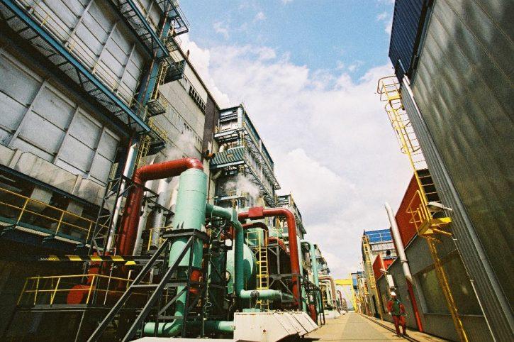 Hnědouhelná elektrárna Počerady. Zdroj: ČEZ