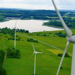 Větrné elektrárny v Německu dohnaly svou výrobou hnědouhelné