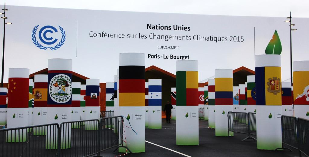 Klimatická konference COP21 v Paříži. Autor: Takver