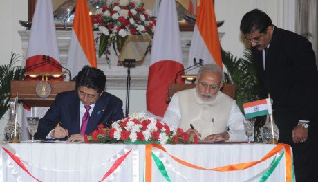 India-Japan December 2015 - 460 (Indian PMs Office)